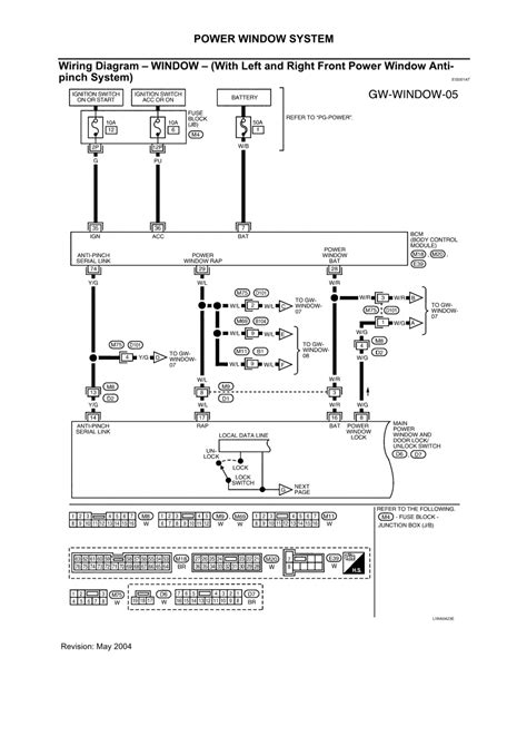 2004 nissan maxima wiring diagram nissan an power mirror wiring diagram 2004 maxima get