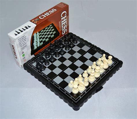 aliexpress buy free shipping mini foldable magnetic chess board chess set children
