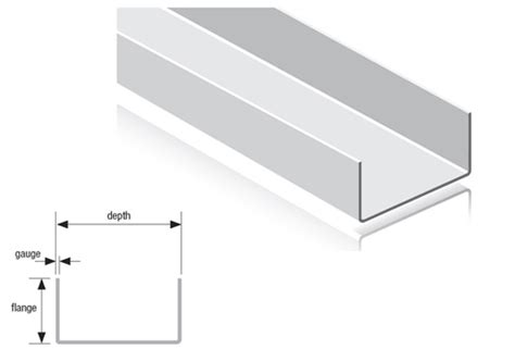 U Section by U Track Section Drywall Steel Sections