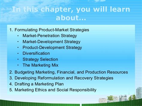Mba Strategy Marketing by Foundations Of Strategic Marketing Management Ppt Mba