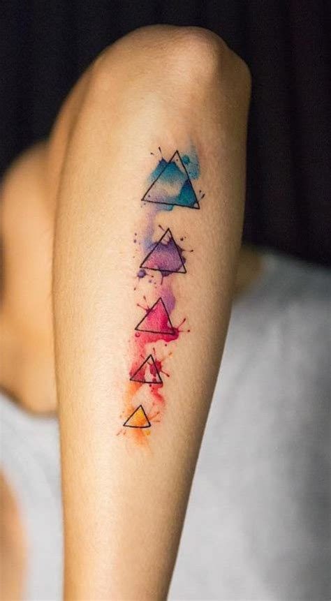 colorful geometric tattoos best 20 geometric tattoos ideas on tatto