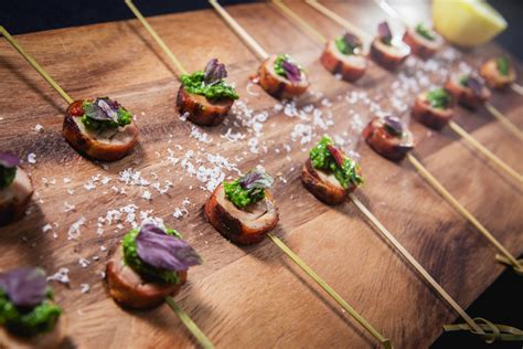 inspired specialty wedding menus