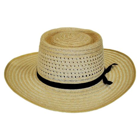 Straw Planter Hat by Akubra Vent Crown Hemp Straw Planter Hat Straw Hats