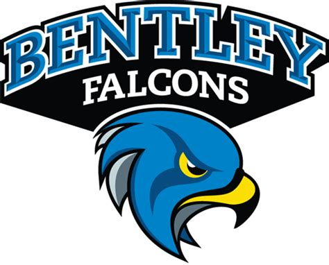 bentley athletics logo bentley falcons 2013 pres secondary logo iron on transfer