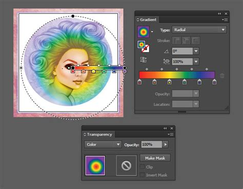color overlay illustrator how to create a pride rainbow gradient overlay in adobe