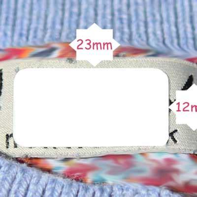 Namensaufkleber Kleidung by 60 X Selbstklebende Etiketten Benutzerdefinierte F 252 R