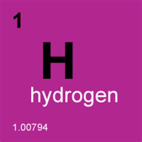 Hydrogen On The Periodic Table by What Does Need