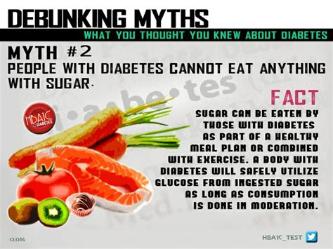 7 Popular Sugar Myths Busted Your Will Thank You by 1000 Images About Diabetes Myth S Busted On