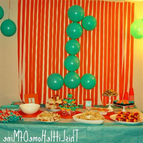 easy decorations home design simple birthday decoration ideas in home