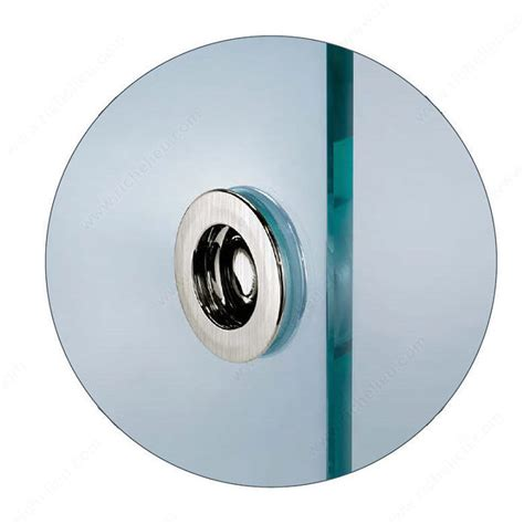 Recessed Door Knob Wall Protector by Recessed Pull Handle For Glass Doors Richelieu Hardware