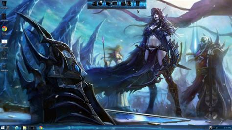 theme windows 7 world of warcraft world of warcraft theme for windows 7 8 10 youtube