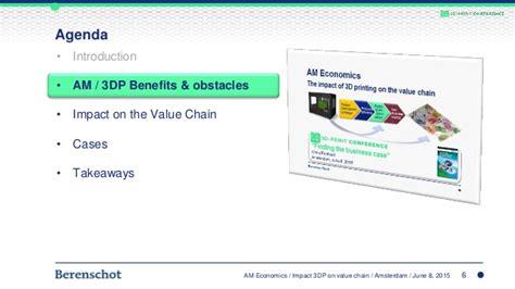Econometrics 3 In 6 am economics 3dp and the value chain