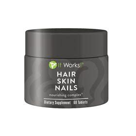 hsn w supplement it works hair skin nails vitamins info the la stylist