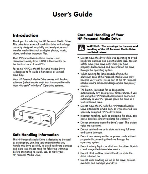 user manual template free sle user manual 9 documents in pdf