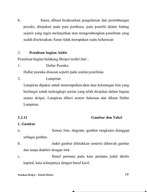 format penulisan proposal skripsi teknik elektro judul penelitian kualitatif yang baik contoh m