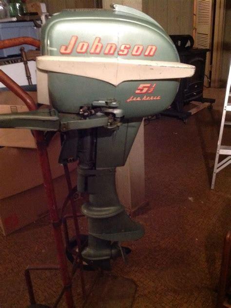 1 5 hp boat motor vintage 1955 5 1 2 hp johnson seahorse outboard boat motor
