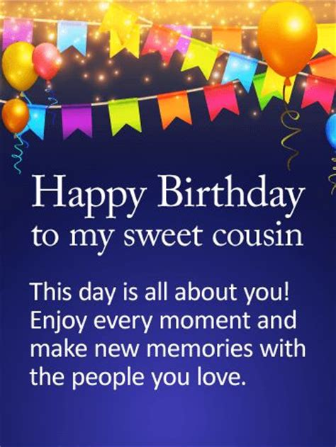 Happy Birthday Wishes To My Cousin 25 Best Ideas About Birthday Greetings On Pinterest