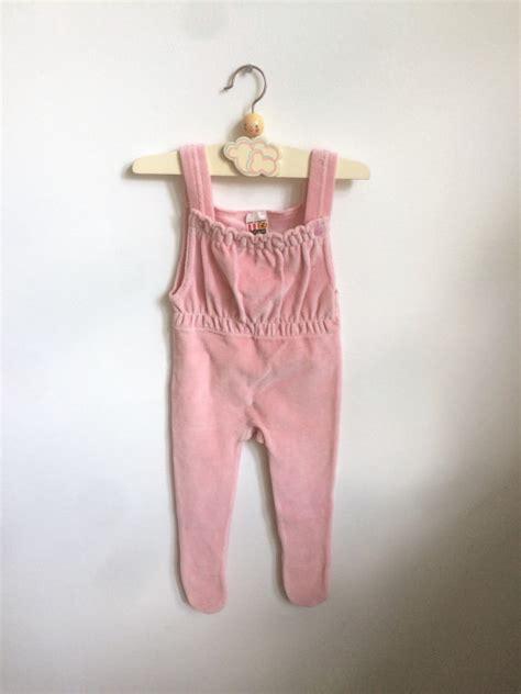 Jumper Romper Pendek Velvet Newborn 0 1 Tahun Vintage Baby Jumpsuit In Soft Velvet 6 12 Months Austrian