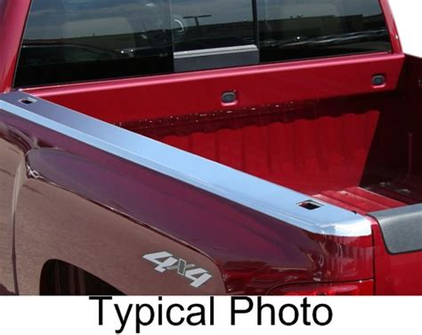 truck bed protection putco truck bed rail protective skins stainless steel