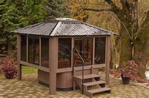 Garden Tub Enclosure Resort Series Tub Enclosure Spa Enclosure Spa Gazebos