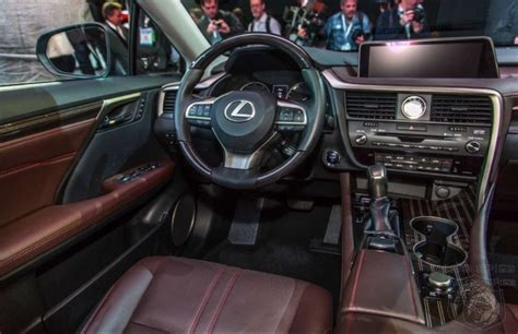 new lexus rx interior nyias lexus has a show stopper with the 2016 rx does