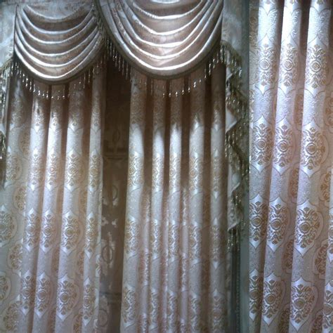 Inexpensive Window Valances aliexpress buy home application embroidery lace golden curtain bright blinds finished