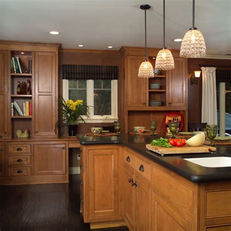 20  Brown Kitchen Cabinet Designs, Ideas   Design Trends