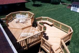 Tri Level Home Plans Designs Multilevel Deck Design Ideas By Archadeck St Louis
