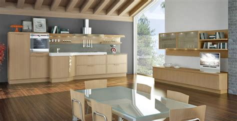 modern kitchens with old oak cabinetry