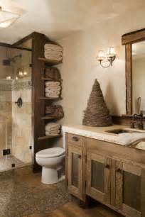 Rustic Bathroom Ideas Pinterest Meubles Salle De Bain Et D 233 Coration Dans Le Style Rustique
