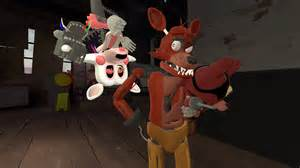 Mangle want to play with foxy plush too by cutixemma on deviantart