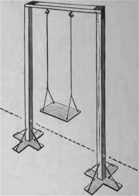 draw a swing how to draw swing set