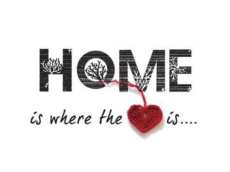 Home Is Where The Heart Is | the awesome family home is where the heart is
