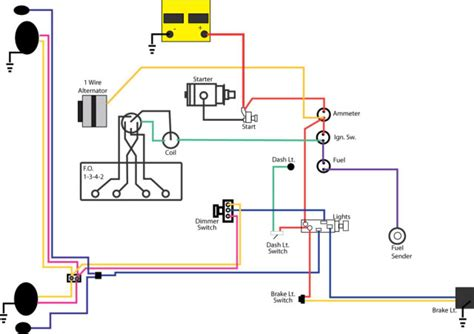 jeep cj2a wiring diagram wiring diagram with description