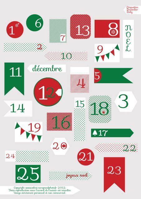 Basteln Weihnachten Mit Kindern 3629 by Planche December Daily Odrai Scrapandphoto Fr Craft