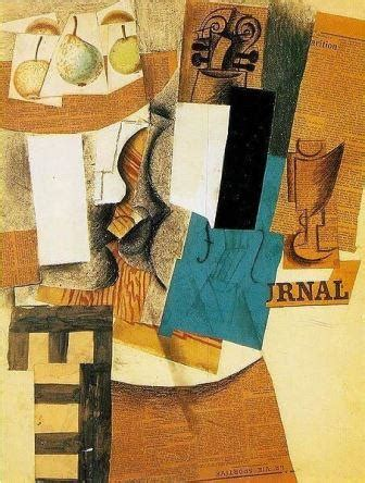 cubist artist pablo picasso the inventor of collage art?