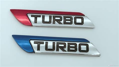 Klikoto Emblem Logo For Turbo 2018 new blue turbo logo 3d metal car auto suv