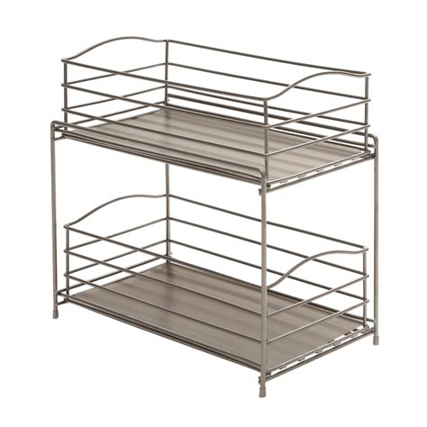 sliding wire baskets for kitchen cabinets sliding baskets for kitchen cabinets chrome and gray