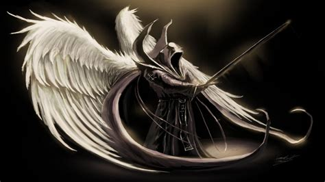 desktop wallpaper dark angel angel wings wallpapers wallpaper cave