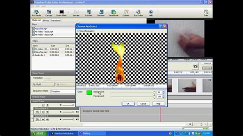 tutorial videopad editor em portugues how to make fire effect with videopad video editor youtube