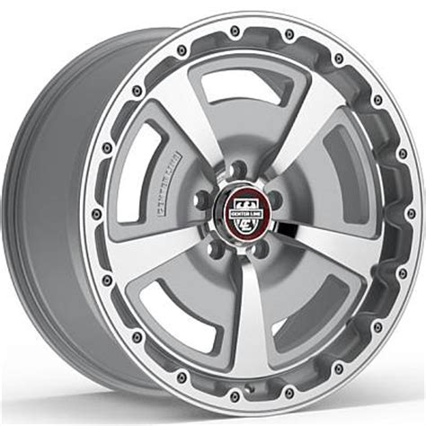 Excellence 8117ms Silver Original center line mm2ms alloy wheels