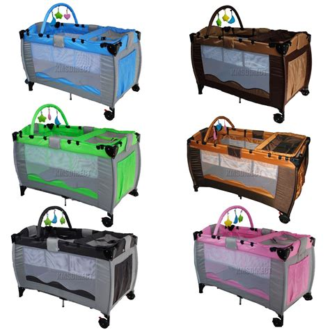 baby travel bed new portable child baby travel cot bed bassinet playpen