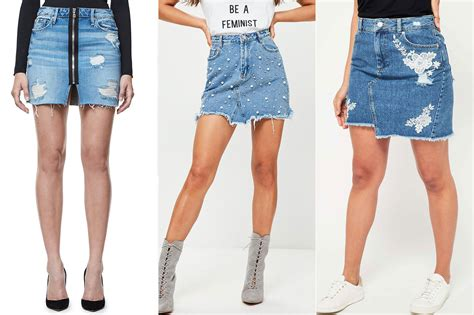 hadid s denim mini skirt is a summer closet staple