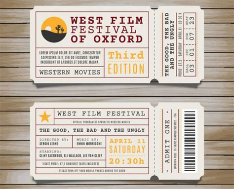 awesome event ticket template photos wordpress themes