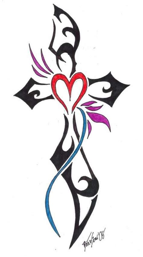 tribal cross tattoos meanings best 25 cross meaning ideas on white