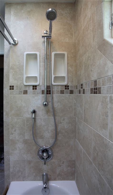 Traditional Small Bathroom Ideas Small Bathroom Ideas Traditional Bathroom Dc Metro By Bathroom Tile Shower Shelves