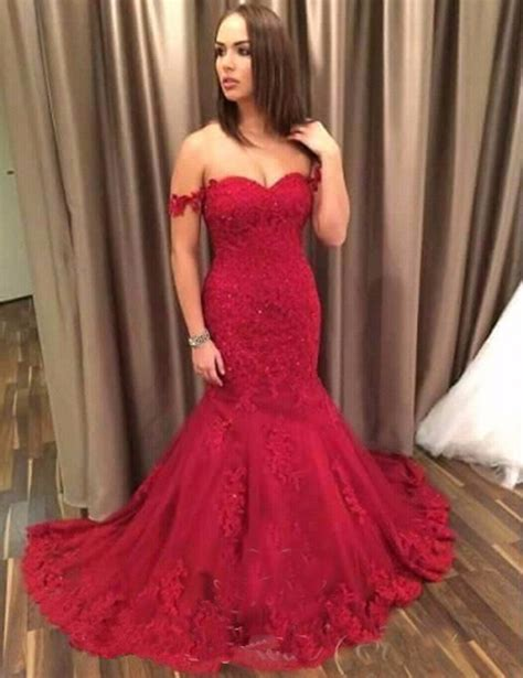 Shoulder Mermaid Dress shoulder prom dresses mermaid prom dresses