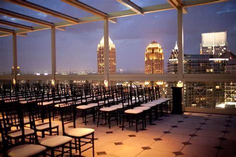 wedding facilities atlanta ga rooftop wedding atlanta rooftop weddings fabulous open