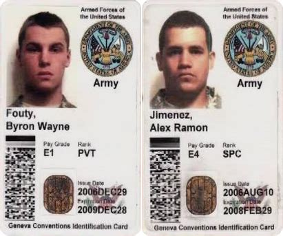 us army id card template may 2007 abduction of u s soldiers in iraq