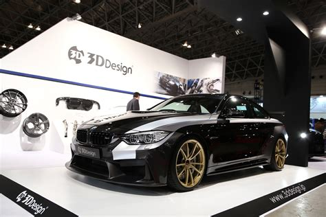 3d Design Bmw This Bmw M4 By 3d Design Stands Out At The 2016 Tokyo Auto